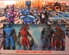 Star Cops Set of 6 inch figures: 2 cops + 2 aliens Toy Kidz Inc, Star Cops, Action Figures, 2000, scifi