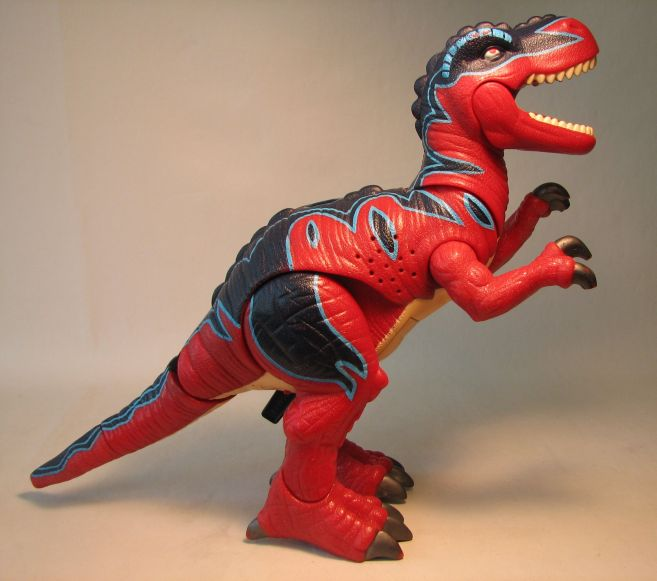 Fisher-Price Imaginext red T-Rex LOOSE Fisher-Price, Imaginext, Preschool, 2004, adventure