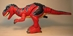 Fisher-Price Imaginext red T-Rex LOOSE - 3195-4500CCCFVG