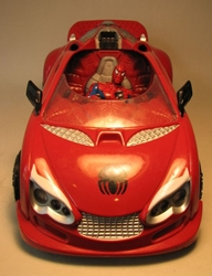 Spider-Man Web Rocket Spider Car LOOSE Hasbro, Spider-Man, Action Figures, 2006, superhero, comic book