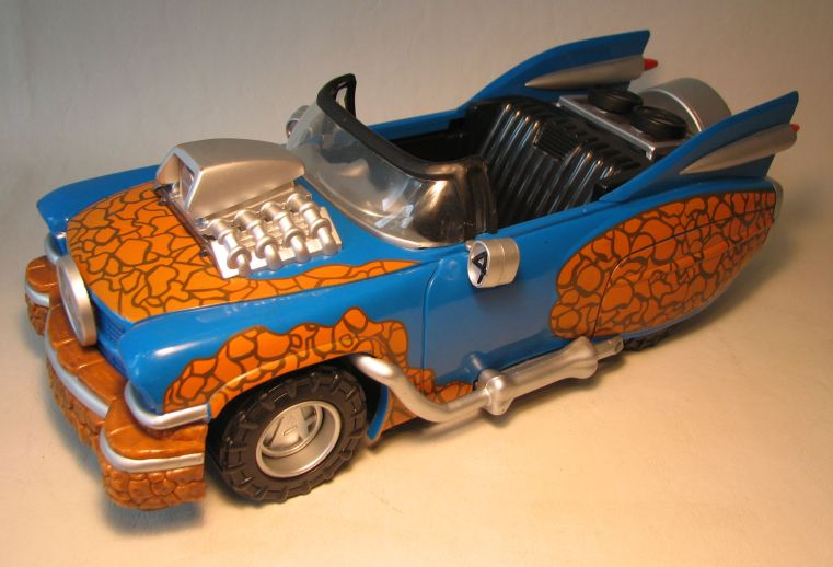 Fantastic Four Thing Hot Rod with Lights & Sound LOOSE Marvel, Fantastic Four, Action Figures, 2005, scifi, movie