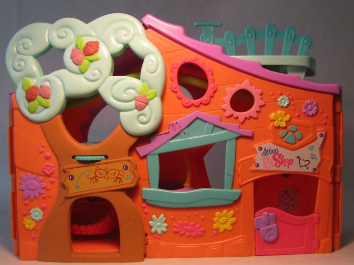 Littlest Pet Shop - Pets Only Clubhouse LOOSE orange Hasbro, Littlest Pet Shop, Littlest Pet Shop, 2007, cute animals, online site