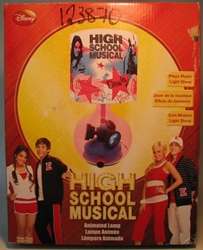 High School Musical Animated Lamp USED KNG America, High School Musical, Decor, 2008, teen, tv show